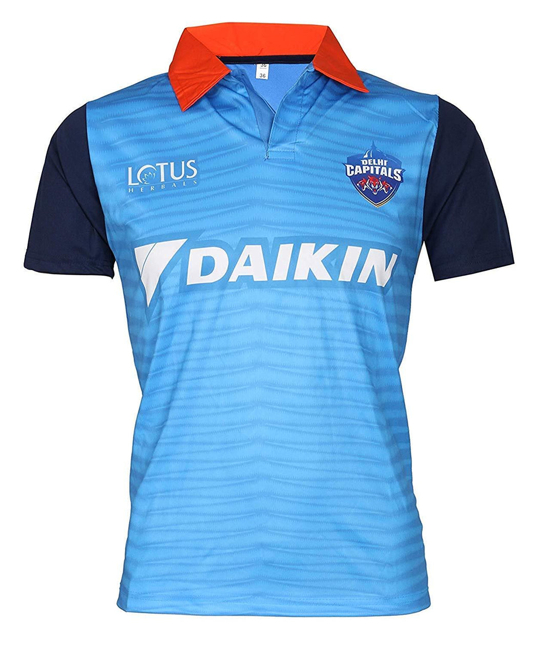 Delhi Capitals Jersey IPL 2019 With Name & No.
