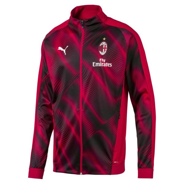 AC MILAN 19/20 ROYAL RED & BLACK JACKET