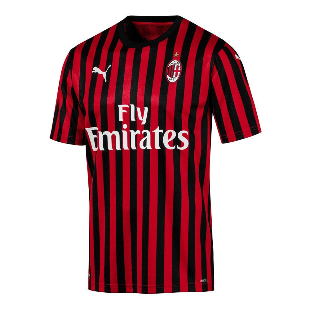 Ac Milan Home With Name & No. 2019-20