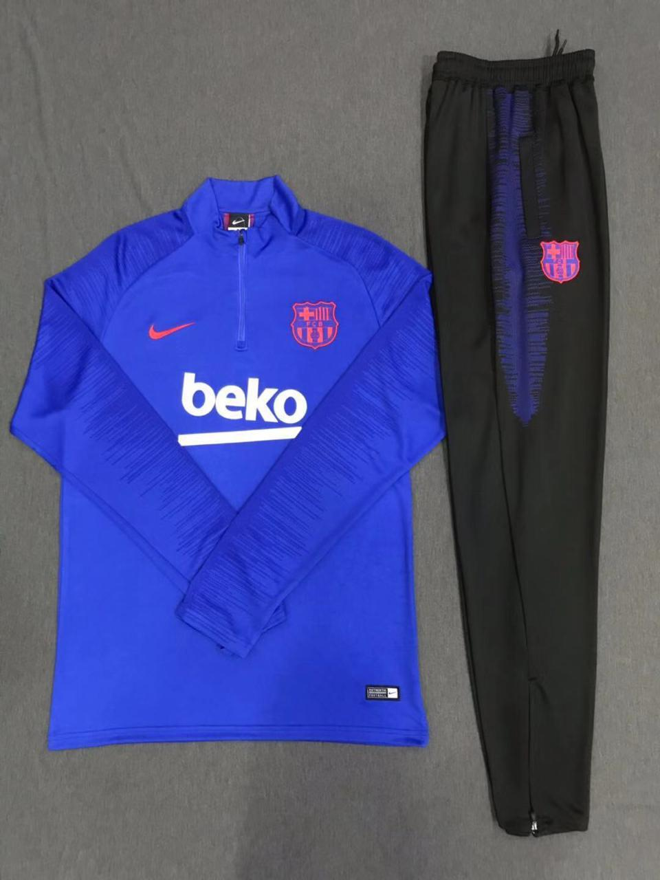Barcelona Deep Blue 19-20 Track Suit