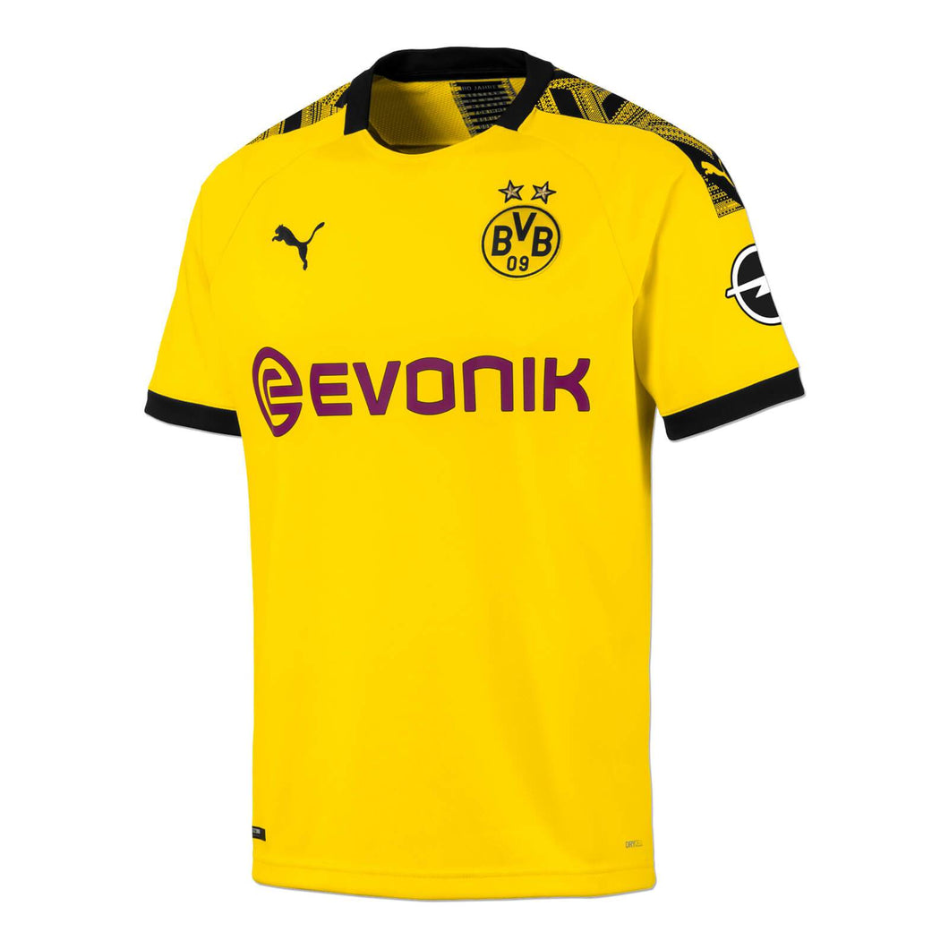 Borussia Dortmund Home Without Name & NO. 2019-20