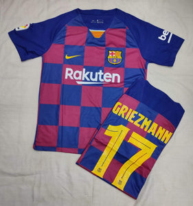 Griezmann Barcelona Authentic Home   Player Version Jersey 19-20
