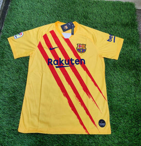 Barcelona Authentic Version Jersey With Name & No.