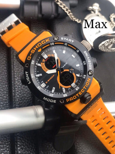 G-SHOCK LEVEL TOUGHNESS WATCH - ORANGE