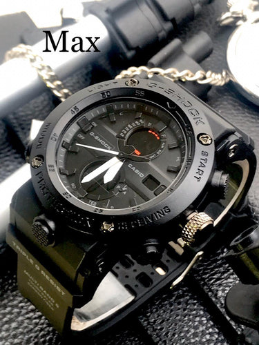 G-SHOCK LEVEL TOUGHNESS WATCH - MATT BLACK