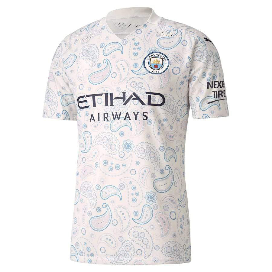 Manchester City Third 2020-21 Without Name & No.