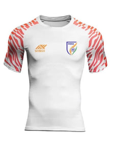 India football Jersey White with name & No