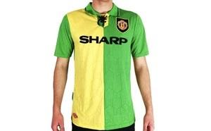 Manchester United FC 1992 Green Jersey