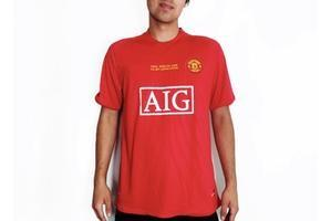 Manchester United FC 2007 UCL Final Home Jersey