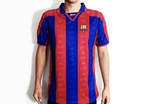 Barcelona  FC 1996 Home Jersey