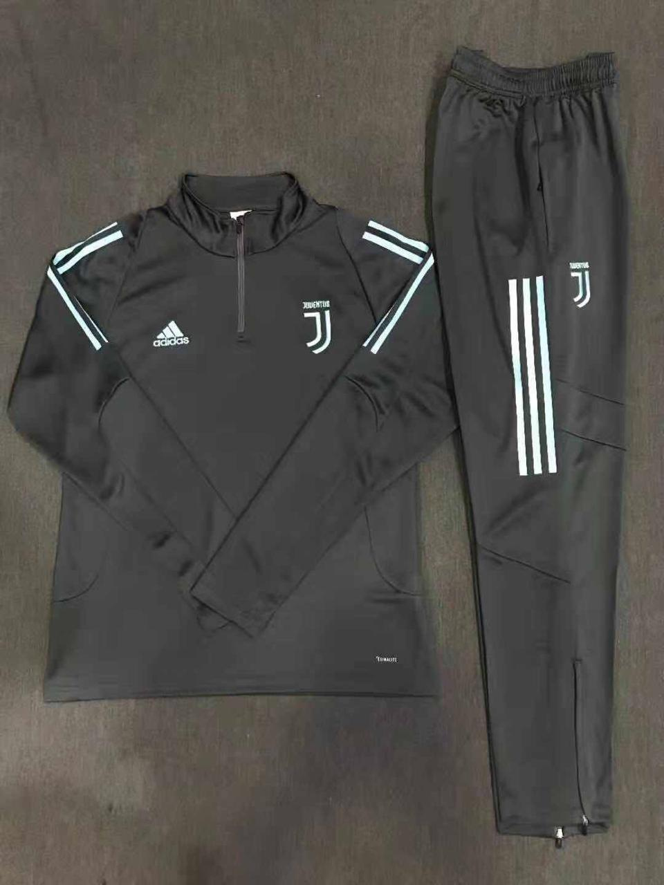 Juventus Black 19-20 Track Suit