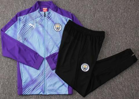 Man City 19-20 Blue Track Suit