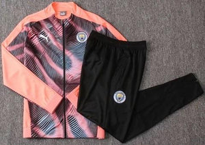 Man City 19-20 Pink Track Suit