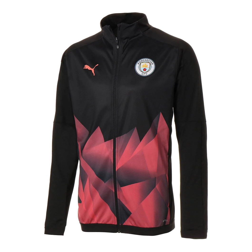 Manchester City Away 19-20 Royal Black & Red Jacket