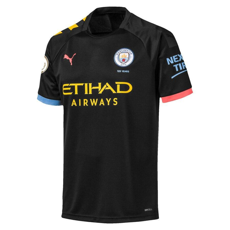 Manchester City Away 2019-20 With Name & No