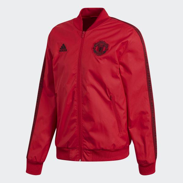 Manchester United Anthem 19-20 Royal Red Jacket