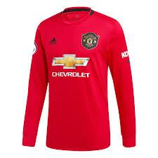 Manchester United Home 19-20 Full Sleeves Football Jersey