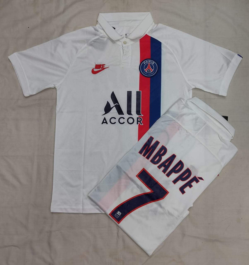 Mbappe PSG Authentic  Third  Player Version Jersey 19-20