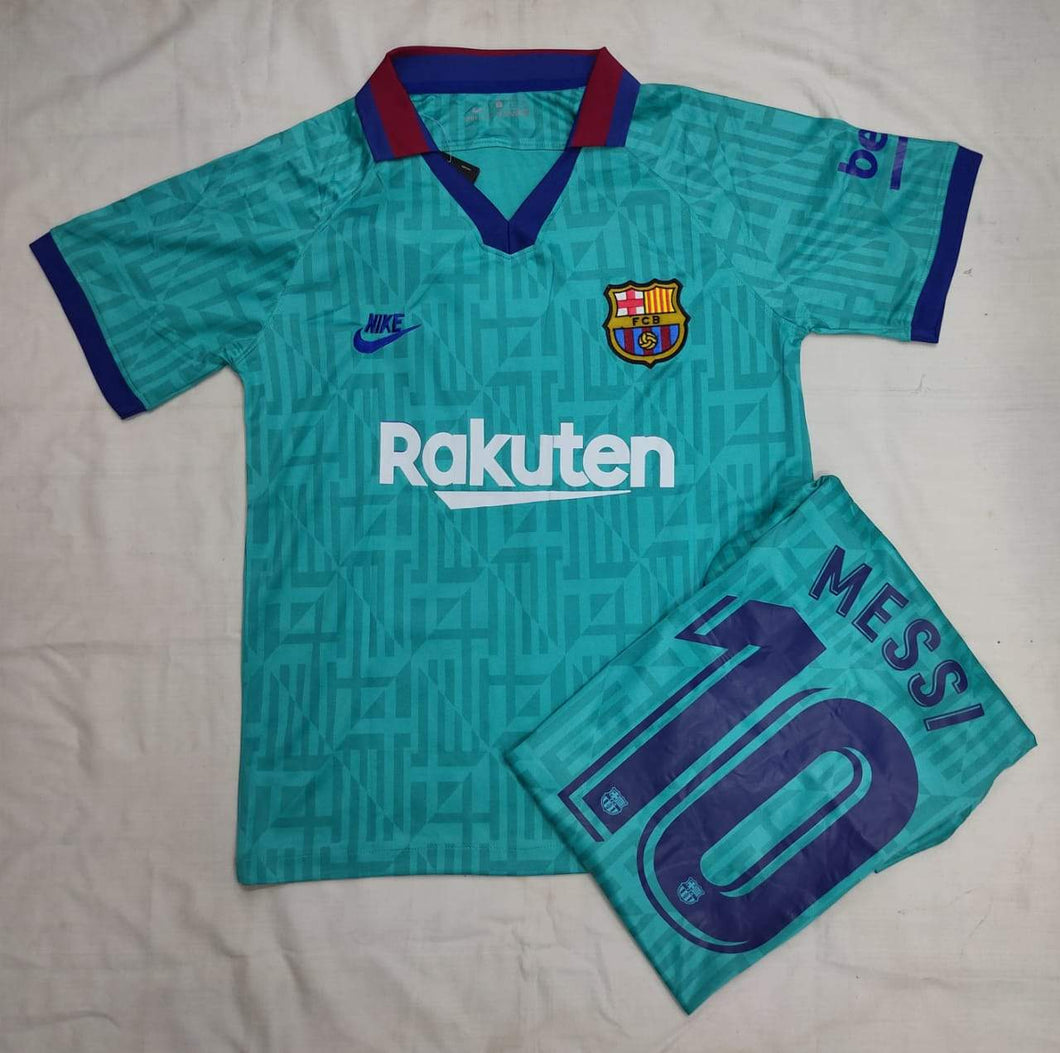 Messi Barcelona Authentic Third   Player Version Jersey 19-20