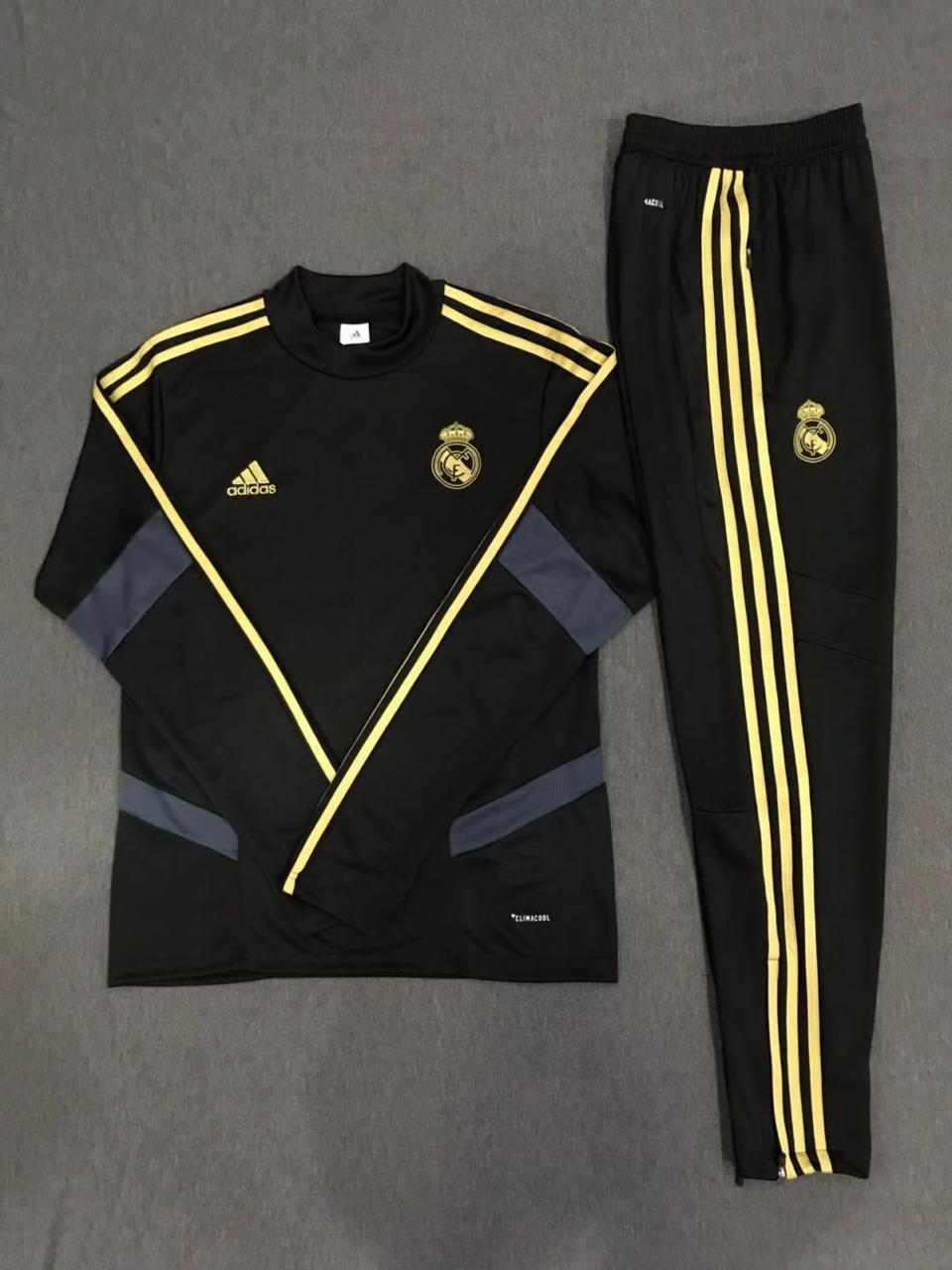 Real Madrid Balck 19-20 Track Suit
