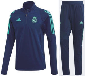 Real Madrid NavyBlue 19-20 Track Suit