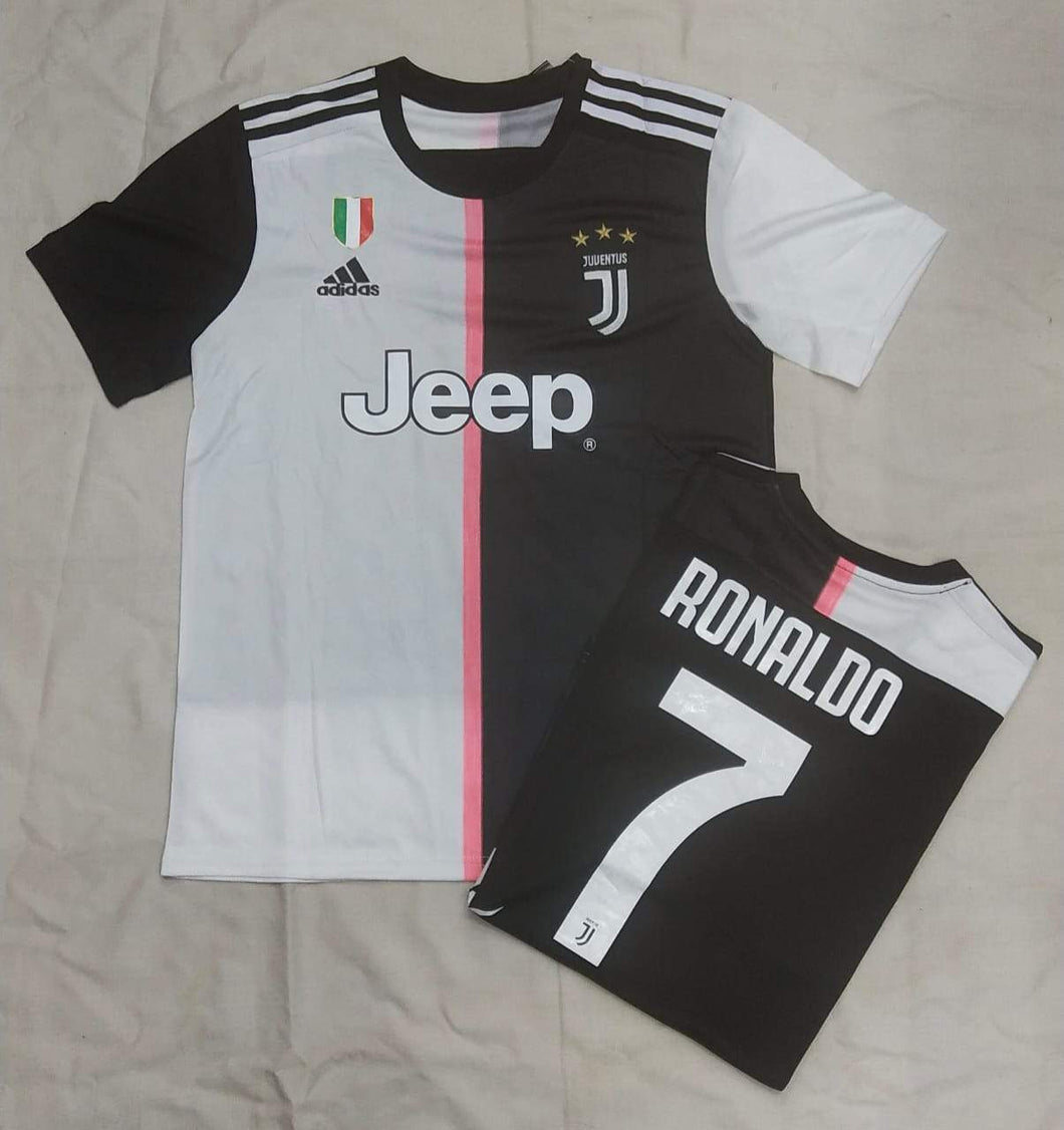 Ronaldo Juventus Authentic  Home  Player Version Jersey 19-20