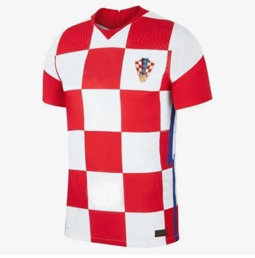 Croatia Home Jersey 2020/21 Without Name & No.