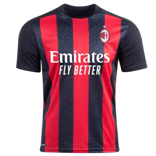 AC Milan Home 2020-21 With Name & No.