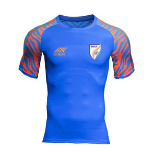 India football Jersey blue with name & No