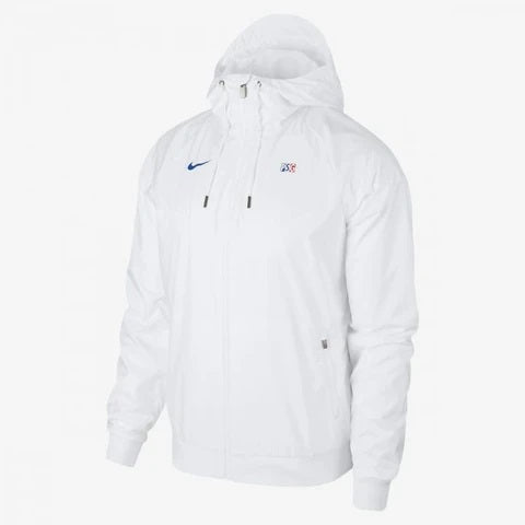 PSG Windrunner Woven Authentic Jacket - White 2020/21