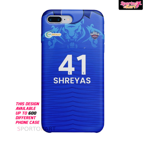 Delhi Capitals Customised 2020/21 IPL Case