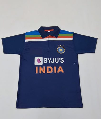 India Cricket Jersey 2020/21 with Name & No.