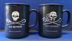 "Sea Shepherd ""Non Chip"" Mugs made from recycled plastic Jolly Roger or Dive logo"