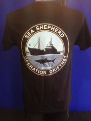 Unisex Sea Shepherd Operation Driftnet T-Shirt