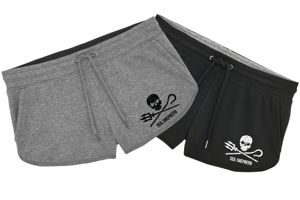 Sea Shepherd Ladies Jogger Shorts
