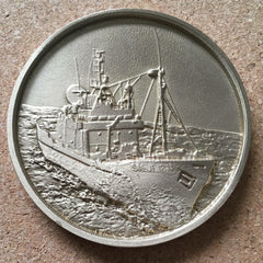40th Anniversary Medallion Sea Shepherd, Made from the Steve Irwin propeller