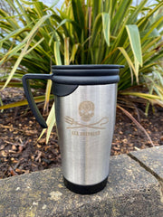 Sea Shepherd Stainless Steel Travel Mug With Engraved Logo