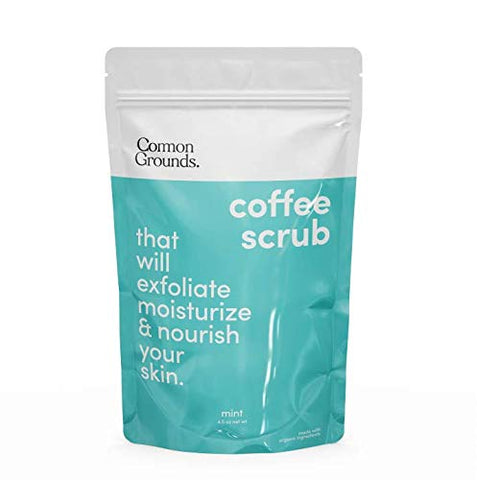 Coffee Body and Face Scrub (Mint)