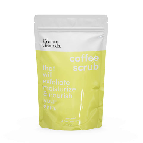 Coffee Body and Face Scrub (Coconut)