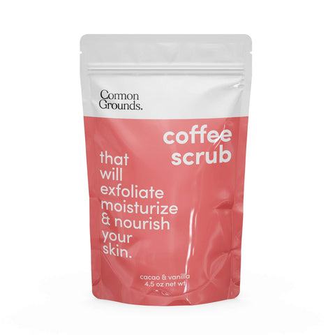 Coffee Body and Face Scrub (Cacao & Vanilla)