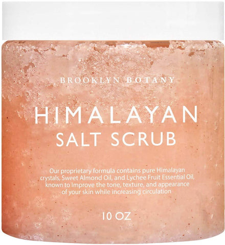 Himalayan Salt Exfoliating Body Scrub & Foot Scrub