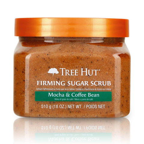 Tree Hut Sugar Scrub Mocha & Coffee Bean.