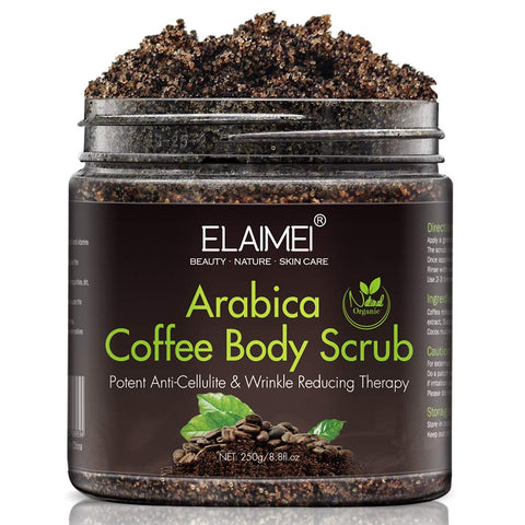 Coffee Body Scrub, Cellulite removal cream