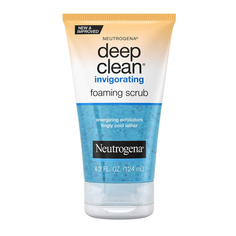 Neutrogena Deep Clean Invigorating Foaming Facial Scrub