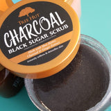 Tree Hut Charcoal Black Sugar Scrub