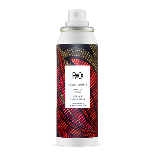 R+Co Neon Lights Dry Oil Spray