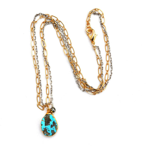 Turquoise Double Chain