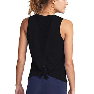 Tank Top with Mesh Back Detail - Vivaz Fitness