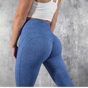 Eva Seam Detail Booty Leggings - Vivaz Fitness