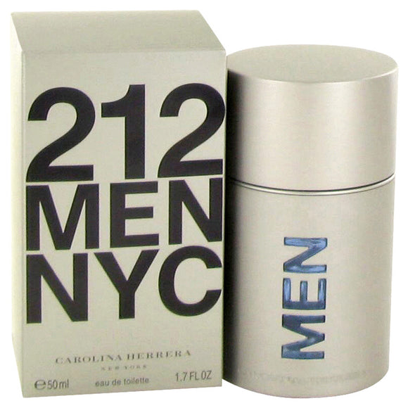 212 by Carolina Herrera Eau De Toilette Spray (New Packaging) 1.7 oz for Men